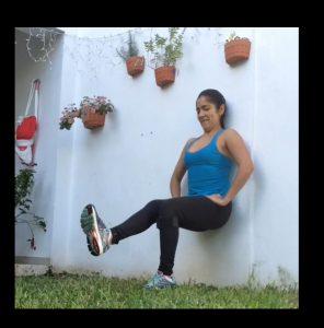 Rutina de isométricos para fortalecer pierna